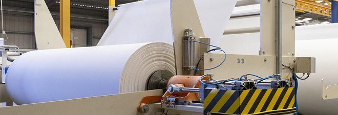 We manufacture 90,000 tons of tissue paper rolls yearly